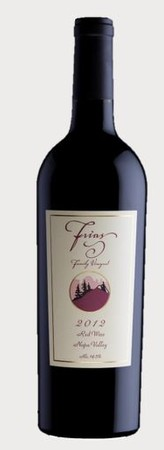 2012 FRIAS Family Napa Red Wine 750ml